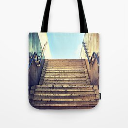 This Way Up Tote Bag