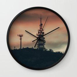 Telegraph Tower Wall Clock