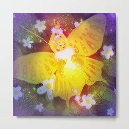 Spring Butterfly Metal Print