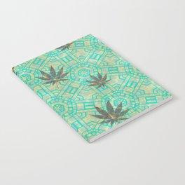 Beachy Steampunk Weed Notebook