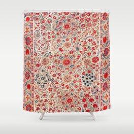 Bokhara Suzani Southwest Uzbekistan Embroidery Shower Curtain
