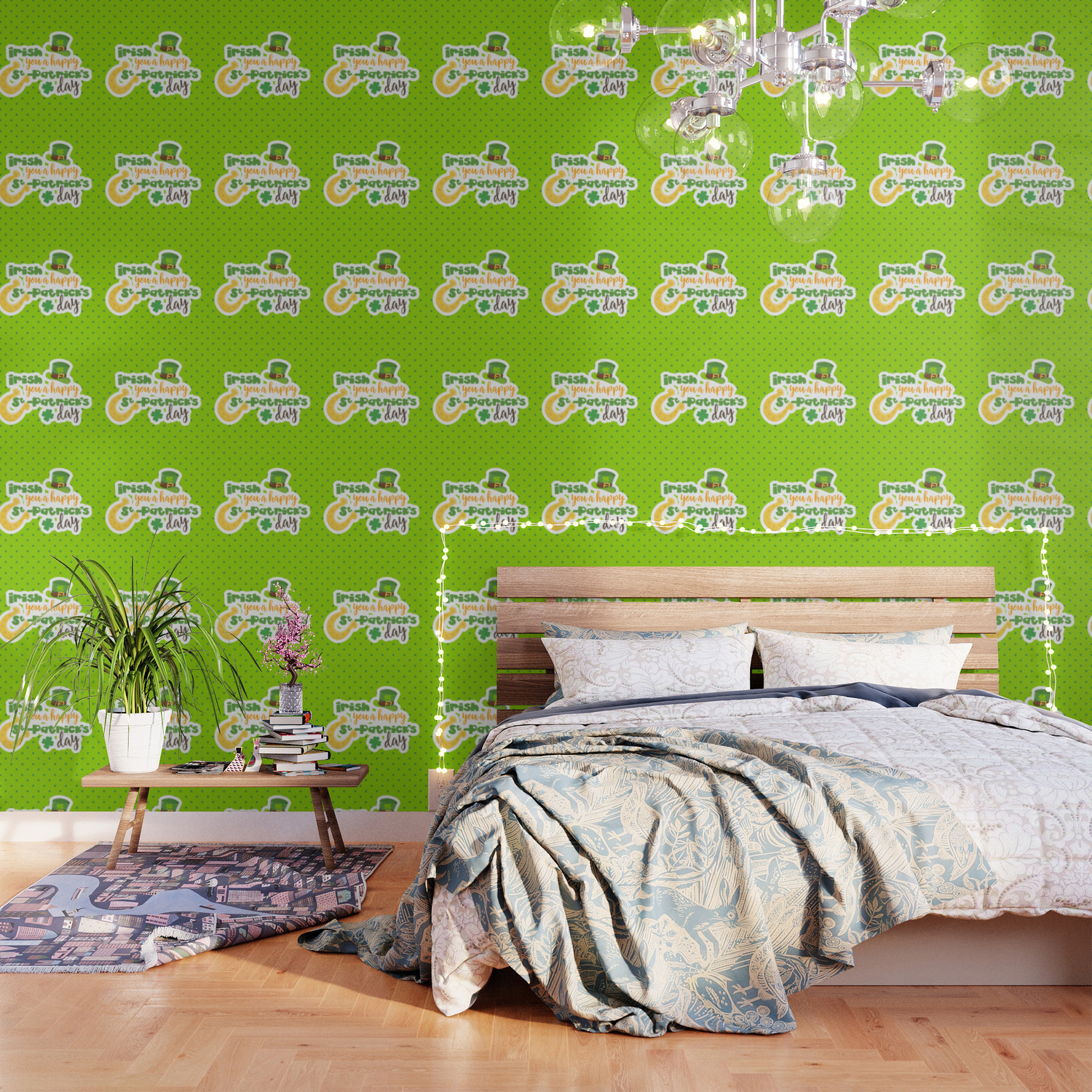 Irish You A Happy St Patrick S Day Wallpaper By Dec02 Society6