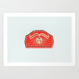 The Way Sewing Used To Be: Vintage Needle Book Art Print