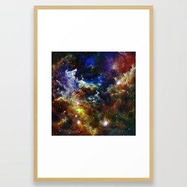 Cradle of Stars Framed Art Print