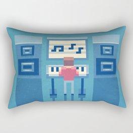 The electronic musician Rectangular Pillow