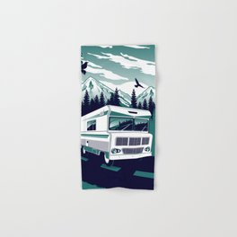 rv there yet? Hand & Bath Towel