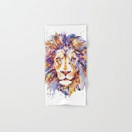 Lion Head Hand & Bath Towel
