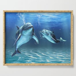 Dolphin Dream Serving Tray