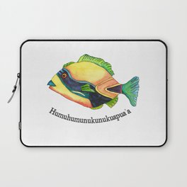 H is for Humuhumunukunukuapua'a Laptop Sleeve