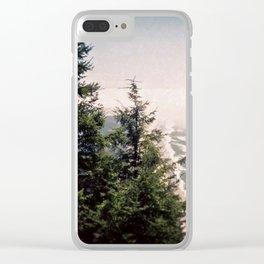 Neahkahnie Mountain Beach Oregon Coast Photo Forest Clear iPhone Case