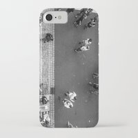 it crowd iPhone & iPod Cases featuring Crowd by Mauricio Santana