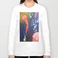 jelly fish Long Sleeve T-shirts featuring Jelly Fish by Little Mama