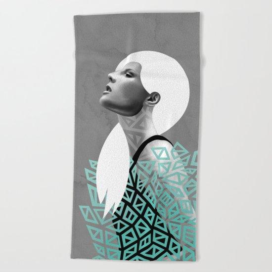 Wrapped Beach Towel