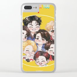 GOT7 Eyes On You Clear iPhone Case