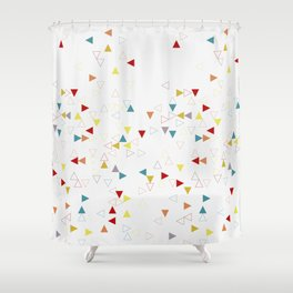 100's and 1000's Shower Curtain