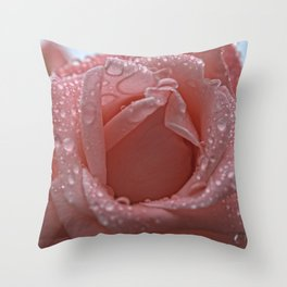 Raining Love Throw Pillow