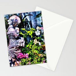 Garden Sculpture Stationery Cards