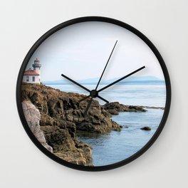 Lime Kiln Lighthouse Wall Clock