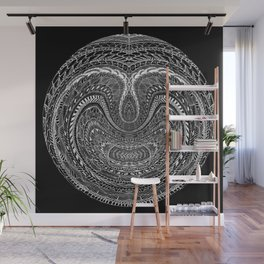 Tangled Orb Wall Mural