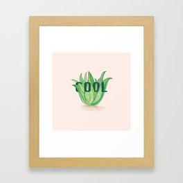 Aloe Vera by Kim Hoang Framed Art Print