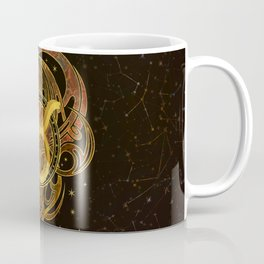 Taurus Zodiac Sign Earth element Coffee Mug