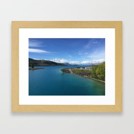 Lake Tekapo | New Zealand |  Landscape Photography Framed Art Print