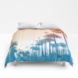 Summer in LA Comforters