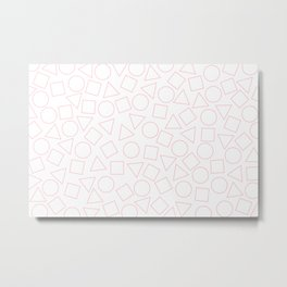 Shapes V.2 Metal Print