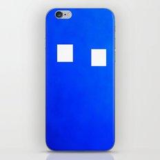 Minimalism Electric Blue iPhone & iPod Skin