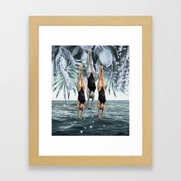 Dive Into Framed Art Print
