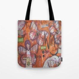 Creative Wings Tote Bag