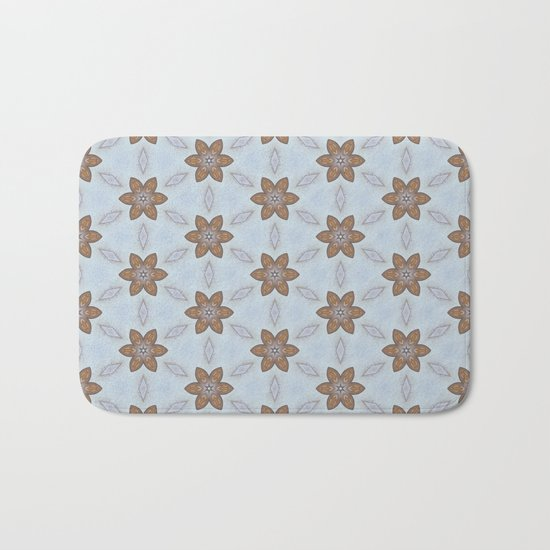 Flower Abstract Bath Mat