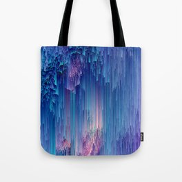 Fairy Glitches - Abstract Pixel Art Tote Bag