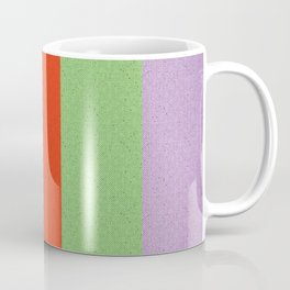 VINTAGE RETRO PATTERN VERTICAL BARS Coffee Mug