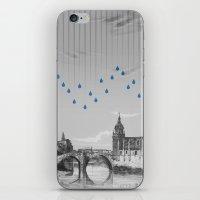 La lluvia en Bilbao es una pura maravilla iPhone & iPod Skin