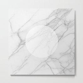 Eye Of The Marble Metal Print