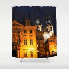 PRAGUE 2 Shower Curtain