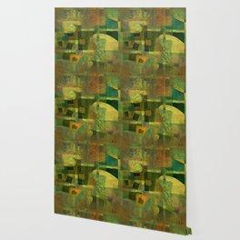 Dorado Verdiso and Butterfly Wallpaper