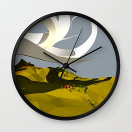They Cast An Odd Shadow Wall Clock