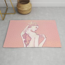Gemstone Lady Rug