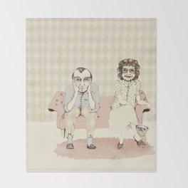 45 years married! Throw Blanket