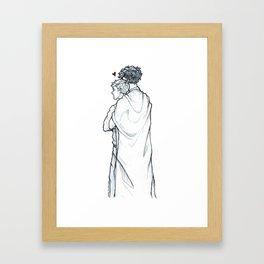 sheet love Framed Art Print