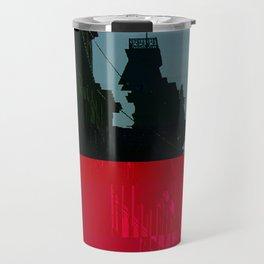 Trieste Glitch 01 Travel Mug