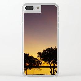 Waco, TX-Tree Shadows Clear iPhone Case