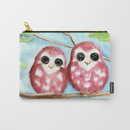 Cute Owls Carry-All Pouch