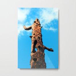 Standing in the Sky Metal Print
