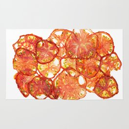 Sour Red Tomato Rug