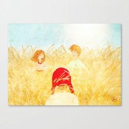 Catching a dream Canvas Print