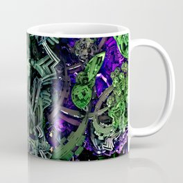 Exoskeleton Green Coffee Mug