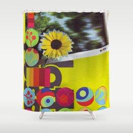 Neon Pallette Shower Curtain